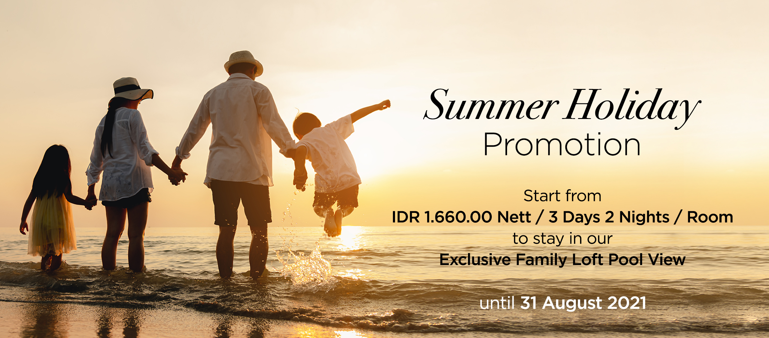TCL Web Banner Summer Holiday